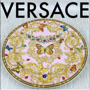 VERSACE LARGE DECORATIVE WALL/SERVING PLATE